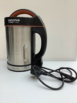 Morphy Richards 48822 1.6L Soup Maker. Used, But Still In Box VGC • 29£