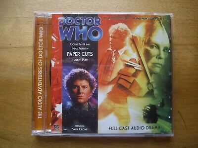 Doctor Who Paper Cuts, 2009 Big Finish Audio Book CD *OUT OF PRINT* • 11.99£