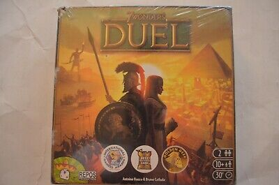 $ CDN25.15 • Buy 7 Wonders Duel Card Game (for 2 People) Sealed With Box Damage Repos Production