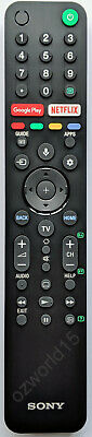 AU72 • Buy RMF-TX500P Sony KD43X8000H KD-43X8000H Remote 4K Ultra HD Android TV REMOTE