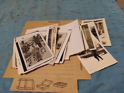 Letter  Ww2 German Photos Of Army Uniform Officers 27 Lot • 9£