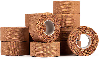 HypaBand EAB Fabric Strapping Tape 2.5cm Pack Of 12 • 19.57£