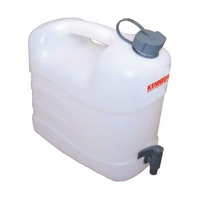 Kennedy Jerry Can Water Container Food Grade Plastic, With Tap 10LTR • 12.73£