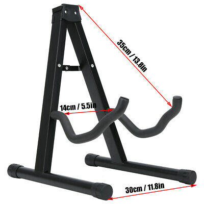 $ CDN26.43 • Buy Guitar Stand A Type Floor Standing Mount Foldable Ukulele Musical Instrument