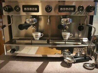 IBERAL 2 Group Commercial Coffee Machine, Grinder & Accessories • 950£