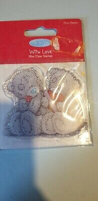 Me To You Bear With Love Clear Stamp • 2£