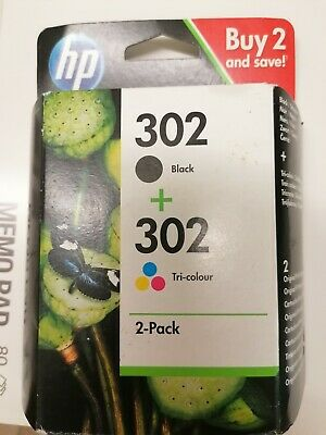 Genuine Hp 302 Ink Cartridges Combo • 19.35£