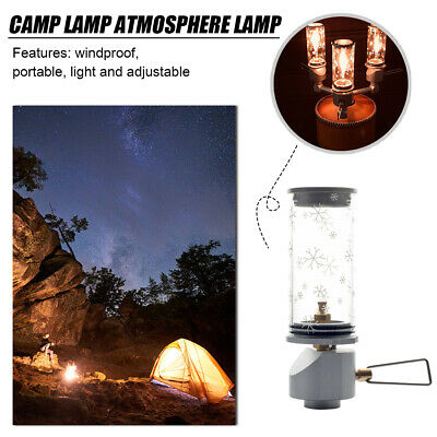 £19.94 • Buy For Outdoor Picnic Tent Gas Snow Lamp Candle Lantern Light Camping Equipment