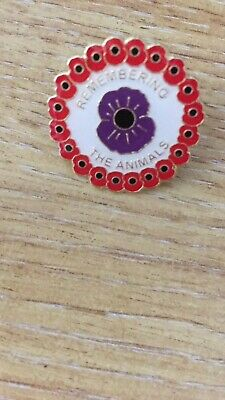 Remembering The Animals Poppy Badge • 3.50£