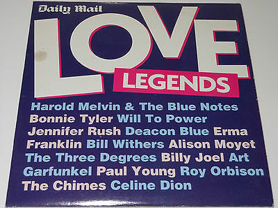 Daily Mail Music CD - Love Legends • 2.50£