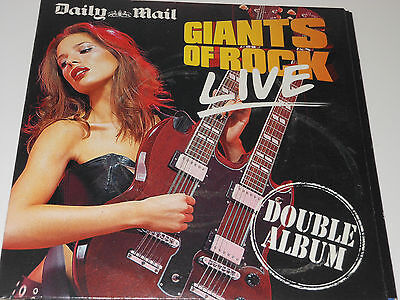 Daily Mail Music CD - Giants Of Rock Live - Disc 1 Only • 2.50£