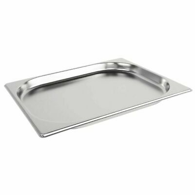 £6.90 • Buy Stainless Steel 1/2 Size Gastronorm Pan Bain Marie Pot