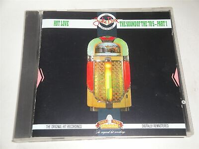 Hot Love The Sound Of The 70s Part 1  CD Album Jukebox Collection • 2.99£