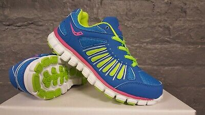$ CDN20.40 • Buy Ascot Ladies Trainers Womens Lace Up Casual Sports Jogging Running Shoes Size