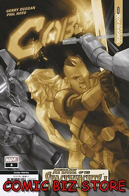 Cable #4 (2020) 2nd Printing Noto Variant Cover Marvel Comics  • 3.65£