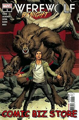 Werewolf By Night #1 (2020) 1st Print Bagged & Boarded Mckone Main Cover • 3.65£