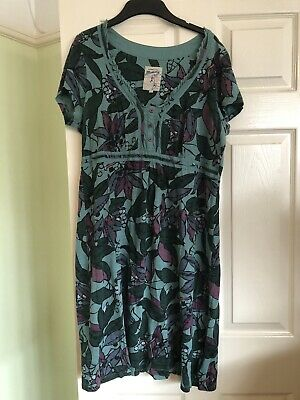 Mantaray Green Dress Size 16 • 3.20£