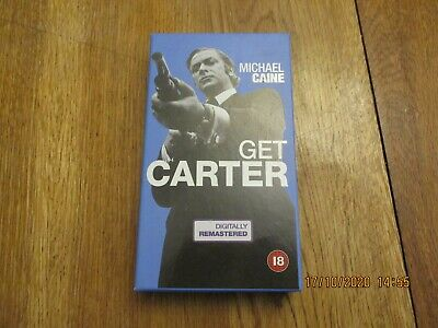Get Carter Michael Caine Vhs Cassette Special Edition Digitally Remastered 2000 • 4.99£