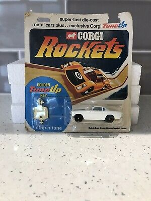 Corgi Rockets  Volvo P1800 In A Sealed Pack       • 85.99£