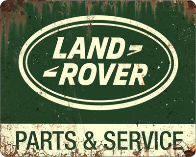 Land Rover - Metal Sign - Off Road Farm Vehicle Engines Garage  Defender 4x4  0o • 7.49£