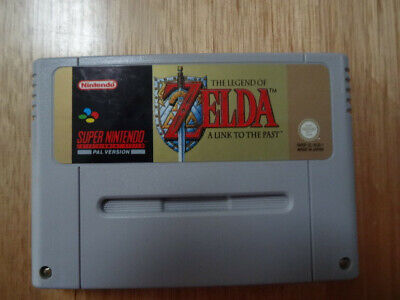 AU60.42 • Buy Legend Of ZELDA LINK TO THE PAST SNES PAL Cartridge Only.