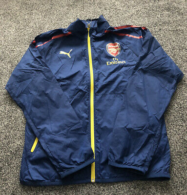 Puma Arsenal Lightweight Football Coat Jacket - Adults Men's Size Small S  • 20£