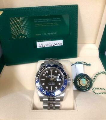 $ CDN23653.97 • Buy Rolex GMT Master II  Batman  126710BLNR 2020