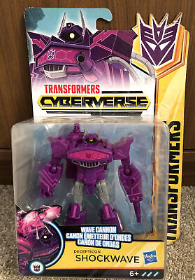 Transformers Cyberverse Decepticon Shockwave Wave Cannon Rare • 17.99£