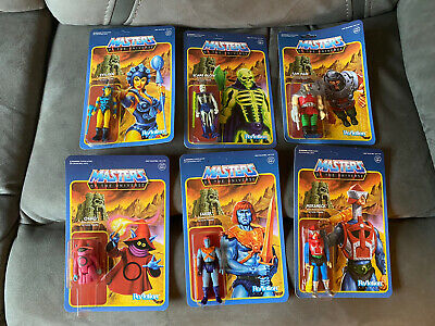 $51 • Buy Motu Super7 Masters Of The Universe 6 Figure Lot Reaction Faker Orko Evil-Lyn +
