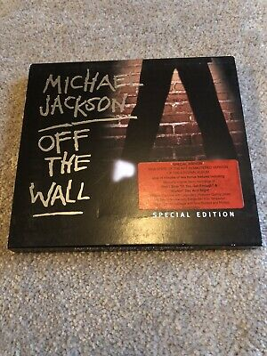 Michael Jackson Off The Wall Special Edition Cd 2001 • 5£