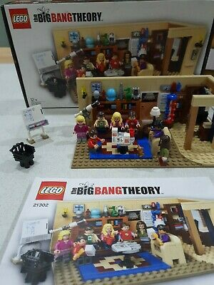 Big Bang Theory Lego Set 21302 Complete With Box & Instructions • 75£