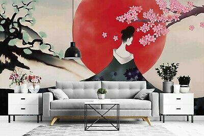 £21.81 • Buy 3D Japanese Style Wallpaper Wall Murals Removable Wallpaper 11