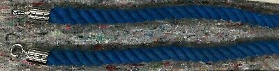 £20 • Buy 2 X Crowd Control Barriers 1.4m Blue Rope Only