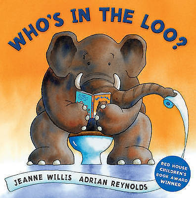 Who's In The Loo? By Jeanne Willis, Acceptable Used Book (Board Book) FREE & FAS • 1.97£