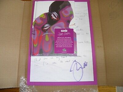 Suede - SIGNED Head Music 4 CD & DVD Deluxe Box Set NEW SEALED  Signed Lyrics • 69.99£