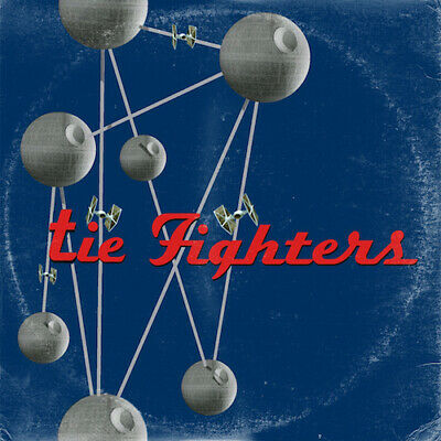 Star Wars (Tie Fighters) / Foo Fighters Colour And The Shape Art Print • 15£