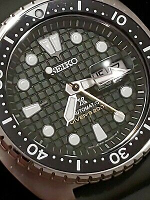 $ CDN457.54 • Buy Seiko King Turtle Prospex Automatic Green Dial Watch.#SRPE05💥👌