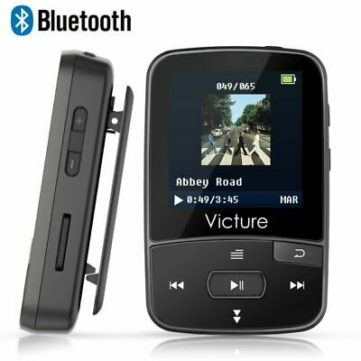 Victure M3 8 GB Bluetooth Mp3 Player - Black • 8.90£