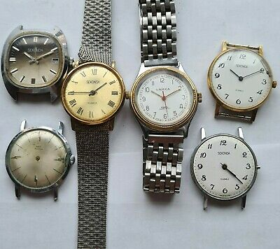Job Lot Vintage Mechanical-1quartz Chaika-russian Watches,1 Working,parts,repair • 20£