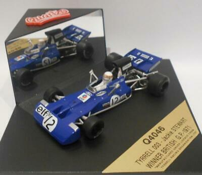 Quartzo 1/43 Scale - 4046 TYRRELL 003 JACKIE STEWART WINNER BRITISH GP 1971 • 14.99£