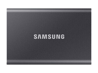 Samsung Portable T7 1TB External SSD (Grey) 1TB Capacity MU-PC1T0T/WW • 130£