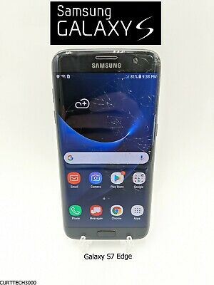 $ CDN120.28 • Buy Samsung Galaxy S7 Edge SM-G935V - 32GB - Black Onyx (Verizon) - Used