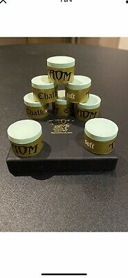 Brand New Taom Gold/soft Green Cue Chalk, 1 Piece, Snooker/pool • 3.20£