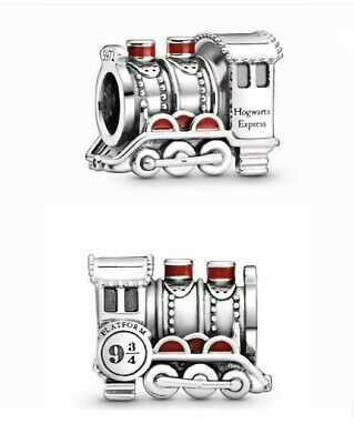 Genuine Pandora Silver ALE 925 Harry Potter Hogwarts Express Train Charm 798624 • 9.50£