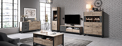 Living Room Furniture Set Tv Unit Display Stand Wall Mounted Cupboard Cabinet • 145£
