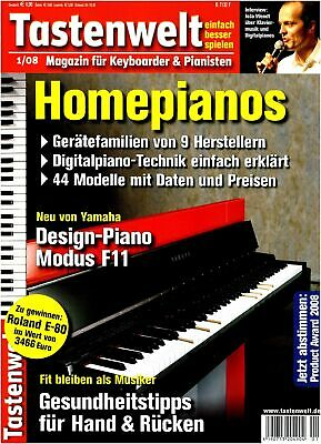 AU8.93 • Buy Homepianos - Digital-Piano Engineering Just Explains - Yamaha Mode F11 IN Test