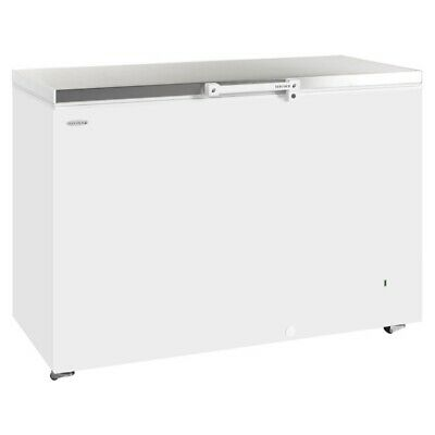 Big Chest Freezer 550 Litre White Commercial Catering Stainless Steel Worklid   • 650£