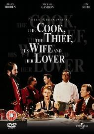The Cook, Thief, His Wife And Her Lover DVD Helen Mirren/tim Roth/michael Gambon • 2.69£