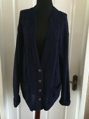 Ladies Cable Knit Cardigan • 0.99£