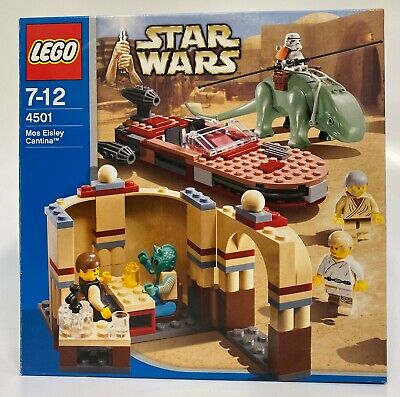 Lego Star Wars 4501 Mos Eisley Cantina Set | Preowned | 100% Complete • 85£
